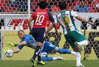 león contra Veracruz en la Jornada 10