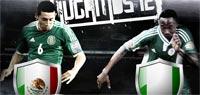 México juega contra Nigeria en un partido amistoso