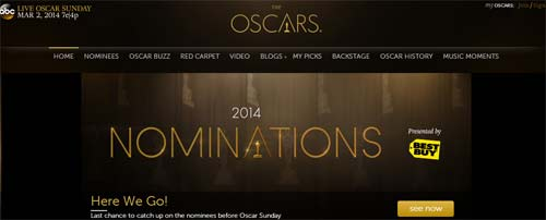 Ver Oscares 2014