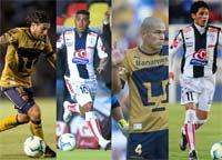 Pumas de la UNAM vs Tuzos del Pachuca enfrentados este Domingo