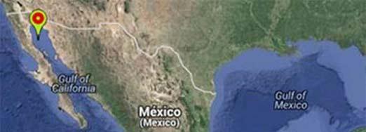 Sismo en Baja California al sur de San Felipe