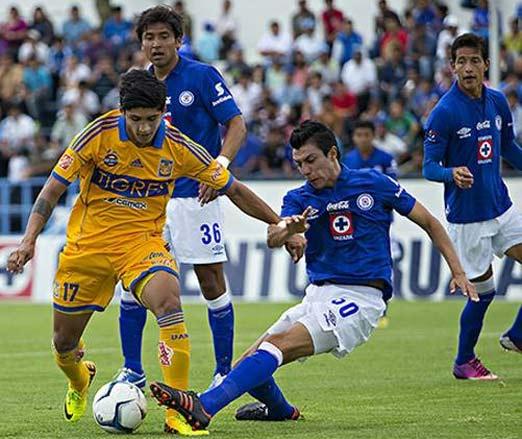 Tigres contra Cruz Azul juego del 8 de marzo de 2014