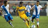 Tigres y Puebla enfrentados en la Jornada 11