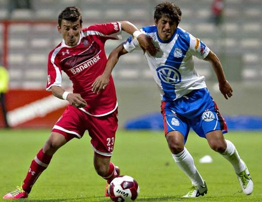 Toluca contra Puebla juego de la jornada 10