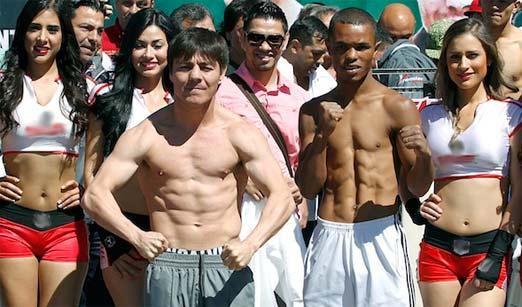 travieso Arce contra Aldimar Silva, pelea del 8 de marzo de 2014
