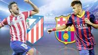 Barcelona enfrenta a Atlético de Madrid en el juego de vuelta
