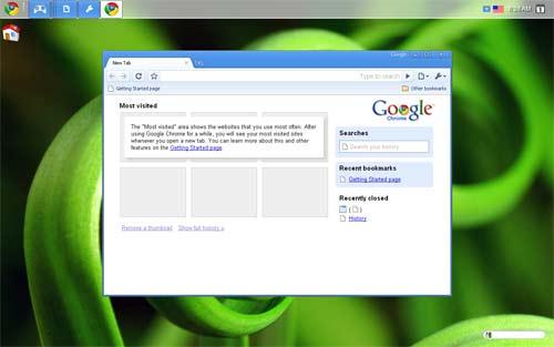 Chrome OS Caracterisitcas