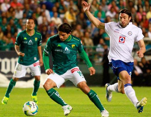 Cruz Azul contra Club León, 30 de abril de 2014