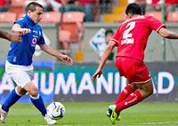 Cruz Azul contra Toluca en la final de la Concachampions 2014