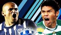 Monterrey contra Santos de la Jornada 14
