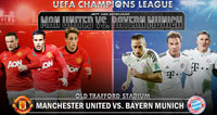 Manchester United contra Bayern Munich, Champions League 2014