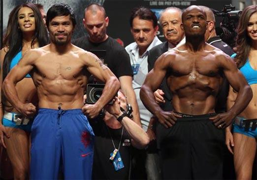 Manny Pacquiao contra Timothy Bradley en la segunda pelea