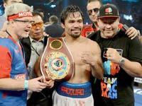 Manny Pacquiao le gana a Timothy Bradley en la segunda pelea