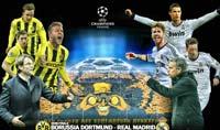 Real Madrid enfrenta a Borussia Dortmund en el santiego bernabeu