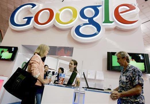 Empleados de Google en su mayoría blancos