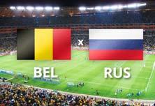 Bélgica enfrenta a Rusia este domingo