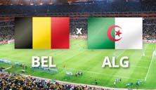 Bélgica contra Argelia primer juego de estas selecciones