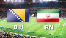 Bosnia Herzegovina contra Irán, Mundial de Brasil 2014