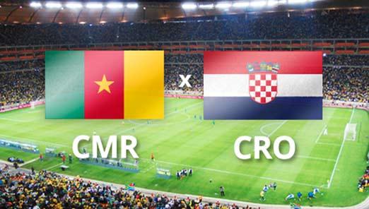 Camerún enfrenta a Croacia el 18 de junio