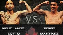 Miguel Cotto enfrenta a Maravilla Martínez en una pelea fantástica