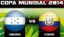Ecuador enfrenta a Honduras este viernes 20 de junio