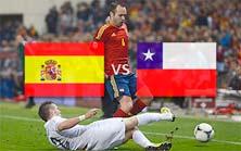 España enfrenta a Chile este 18 de Junio
