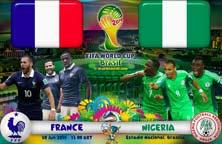 Francia enfrenta a Nigeria este Lunes