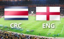 Inglaterra jugará contra Costa Rica el 24 de Junio