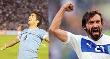 Italia enfrenta a Uruguay para pasar al a siguiente ronda