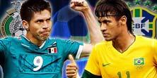 México enfrenta a Brasil este Martes 17 de Junio