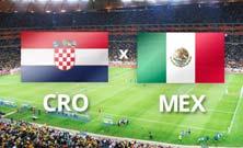 México enfrenta a Croacia para asegurar su pase