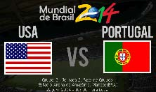 USA vs Portugal, Mundial Brasil 2014