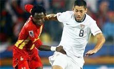 USA vs Ghana este Lunes