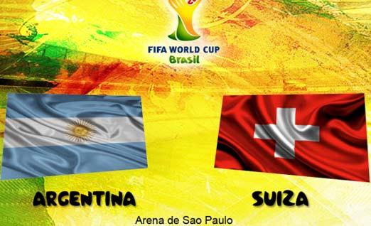 Argentina enfrenta a Suiza este 1 de Julio
