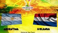 Argentina contra Holanda en las semifinales