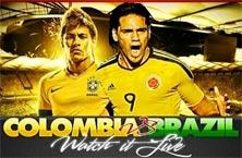 Brasil y Colombia este 4 de Julio en los cuartos de final