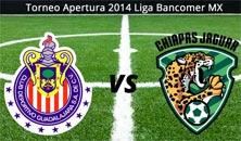 Chivas contra Jaguares juego de la jornada 1