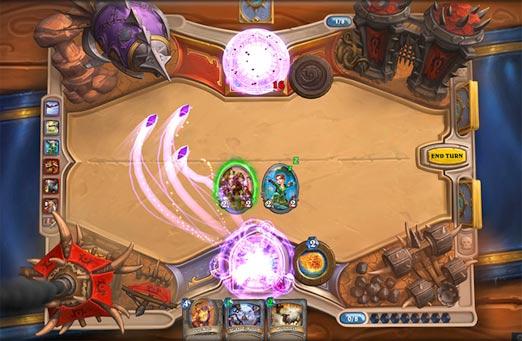 Hearthstone, Heroes of Warcraft, juego de cartas online