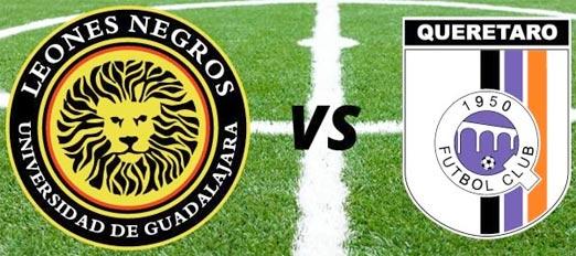 Leones Negros enfrenta a Querétaro en el Estadio Jalisco