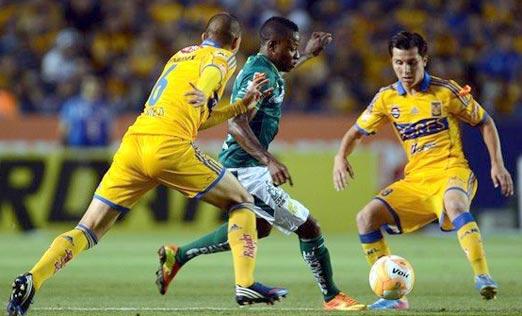 Tigres contra León, fútbol mexicano