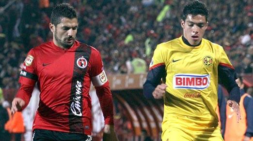 Xolos vs América, Jornada 2 del Torneo de Apertura 2014