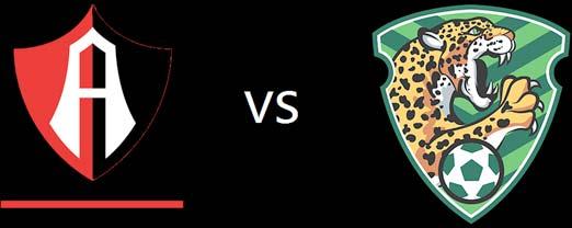 Atlas contra Jaguares este 2 de agosto
