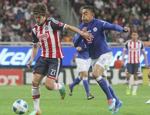 Chivas contra Cruz azul en plena jornada 7