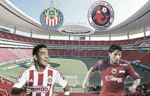 Chivas contra Veracruz, Jornada 6