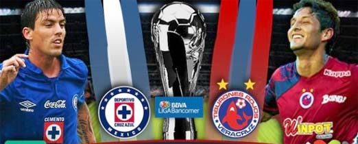 Cruz Azul contra Veracruz, Jornada 3