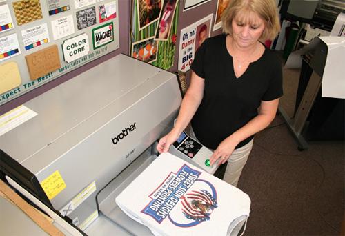 Cómo imprimir camisetas