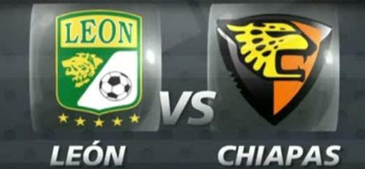 Club León contra Jaguares de Chiapas en la Jornada 4