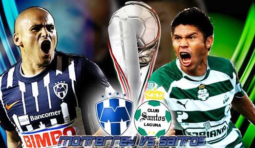 Santos Laguna vs Rayados de Monterrey, Jornada 3