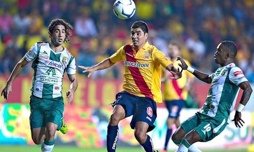 Morelia enfrenta a León en el Estadio Nou Camp