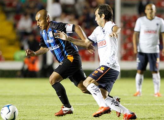 Querétaro contra Monterrey Liga MX
